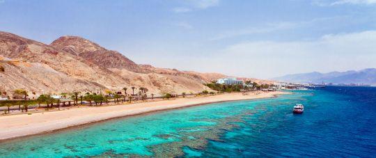 Eilatas - atostogos prie Raudonosios jūros