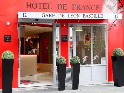 Hotel de France Gare de Lyon Bastille 3*