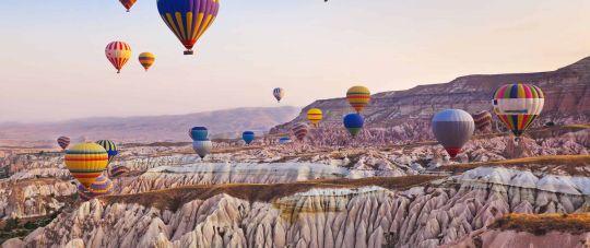Įspūdinga pažintinė kelionė lėktuvu į Turkiją