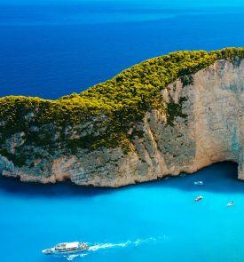 Pažintinė kelionė lėktuvu po Graikiją! Nuo Peloponeso iki Jonijos salų..