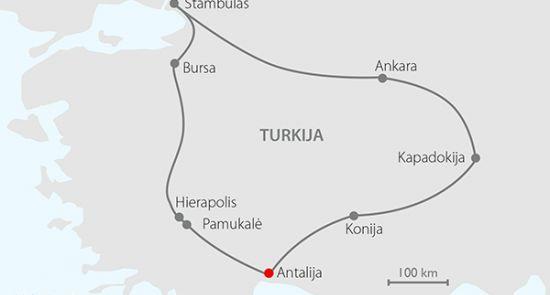 Rytų ekspresas - įspūdinga pažintinė kelionė lėktuvu į Turkiją! 2021 m.
