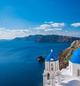 Santorini - trumpos atostogos romantiškiausioje Graikijos saloje!